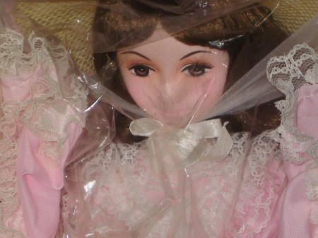 Information on a Brinn Plastic and Fabric Doll