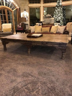 Identifying a Coffee Table - rustic coffee table