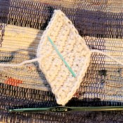 How to Crochet the Perfect Diamond Shape - Sandi's diamond