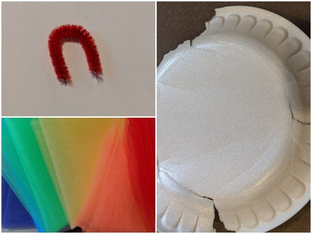 Rainbow Unicorn Ornament - supplies
