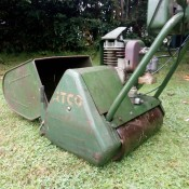 Value of a Vintage ACTO Mower - side view