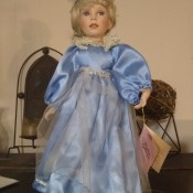 Value of a Paradise Galleries Doll - blond doll in long blue dress