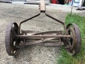 Identifying an Old Reel Mower