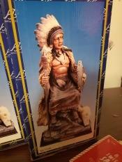 Value of Ashley Belle Native American Figurine