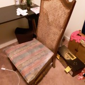 Identifying a Vintage Cane Back Chair - chair with tall cane back