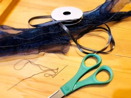 Beautiful Ribbon Gift Topper - supplies