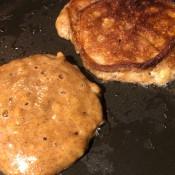 flipped pancake