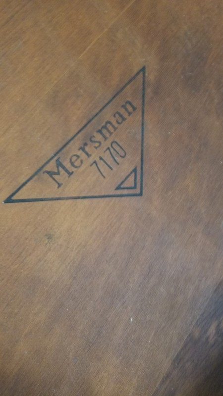 Value of a Mersman 7170 Side Table