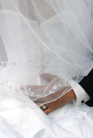Embroidered Wedding Veil
