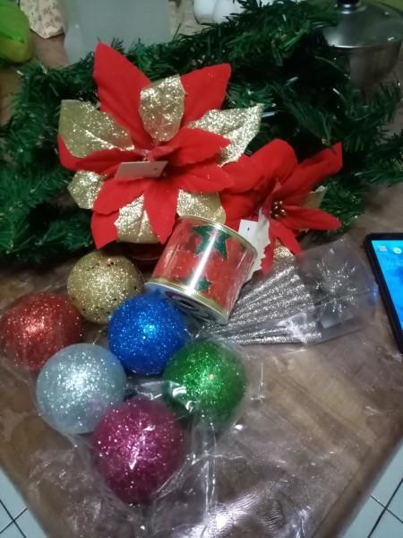 Wreath Chandelier - supplies