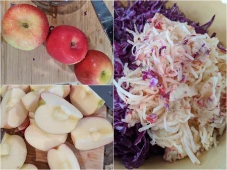 Cut & shredded Apples