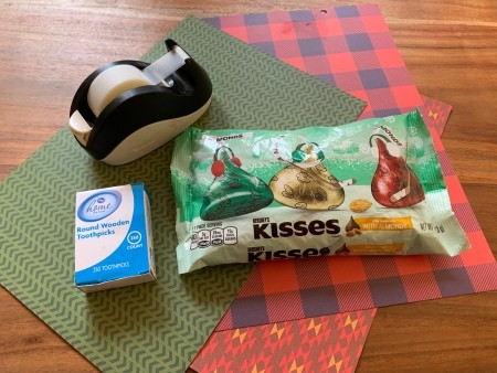 Hershey Kiss-mas Trees - supplies