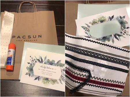Congratulations Gift Bag - supplies