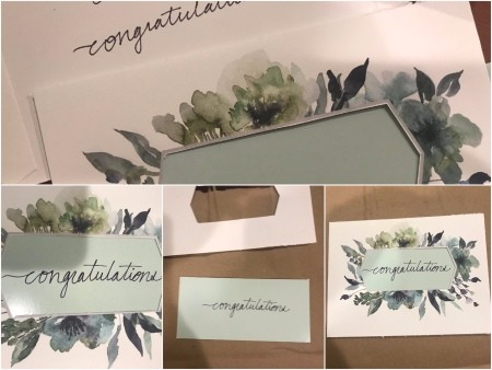 Congratulations Gift Bag - create your message to fit
