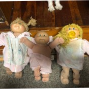 Value of Cabbage Patch Dolls  - 3 dolls