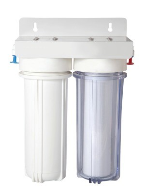 A filter for a water system.