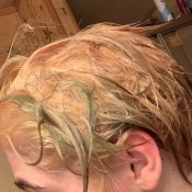 Dyeing Hair After Bleaching - green hair after bleaching