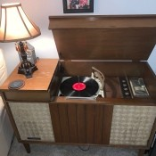 Value of a Vintage GE Console Record Player