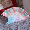 Paper Plate Hedgehog - cute paper plate hedgehog on a lace runner