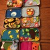 Quiet Time Play Tins for Children - open Altoid type tins with cute scenes and felt animals etc.
