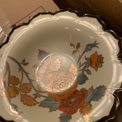 Value of a Noritake Bowl - bowl with rose pattern