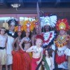 A Tahitian wedding anniversary celebration.