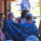 A Tahitian style wedding anniversary celebration.