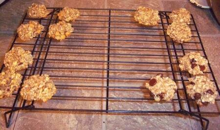 Two Ingredient Healthy Cookies