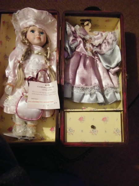 Value of a Cathay Depot Collection Doll