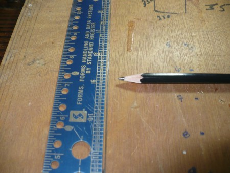 Making A Beading Loom - cut plywood to desired size