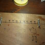 Making A Beading Loom - handmade beading loom