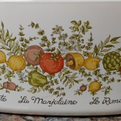 Value of a Vintage CorningWare Covered Dish