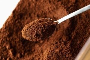 Finely ground espresso powder.