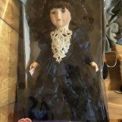 Value of a Camellia Garden Collection Doll - doll in box
