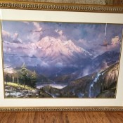 Value of Thomas Kinkade Limited Edition Prints - Twilight Vista print