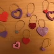 Valentine's Day Ornaments - several ornaments