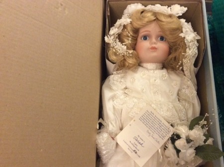 Value of a Betty Jane Carter Musical Porcelain Doll