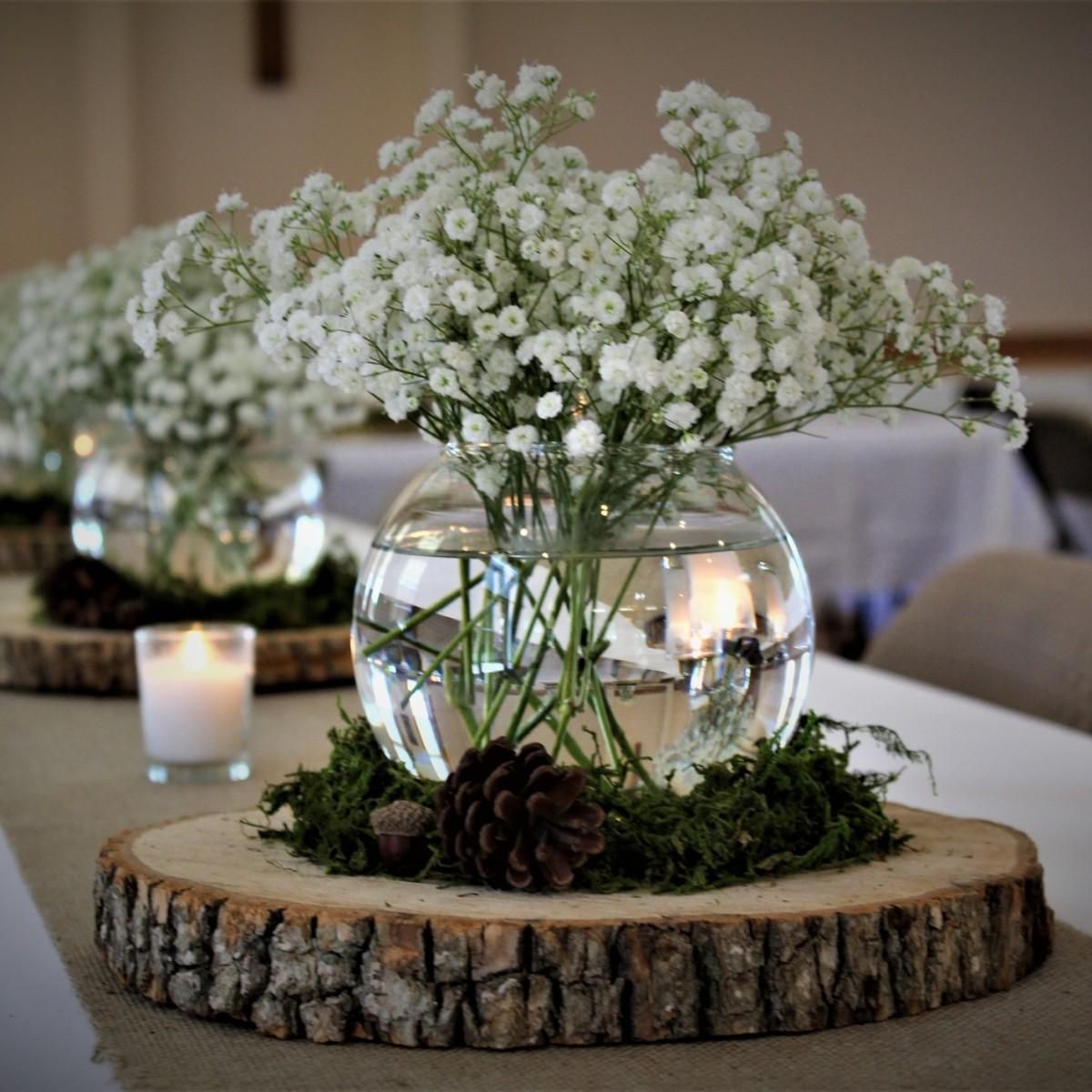 Wedding Centerpiece Ideas | ThriftyFun