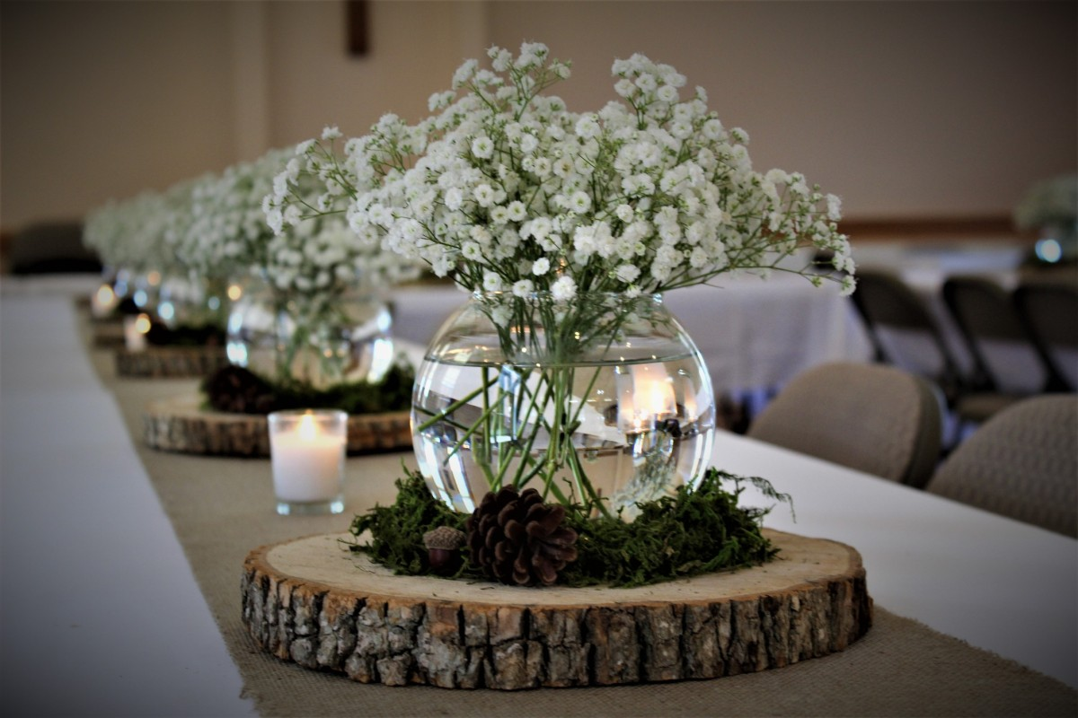 Wedding Centerpiece Ideas | ThriftyFun