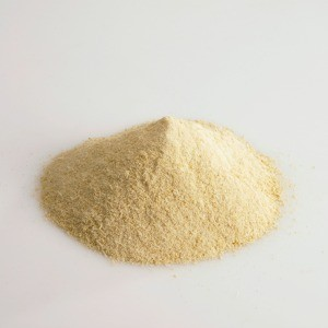 A pile of powdered parmesan cheese.