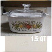 Selling Vintage CorningWare - covered casserole