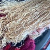 Stringy Spiral Perm - permed hair photo