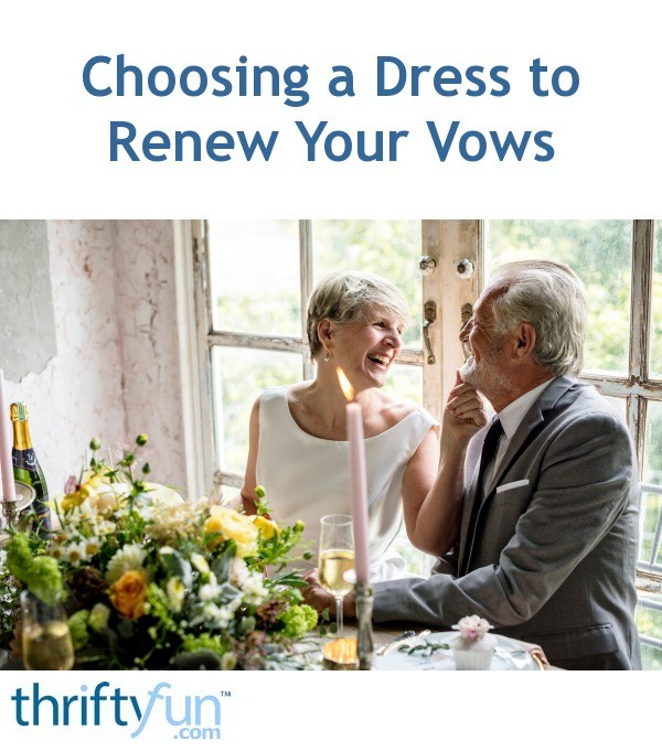Dresses For Vow Renewal Ceremony: Choosing A Dress To Renew Your Vows