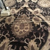 Getting Bubbled Up Areas Out of Rugs - rug with long bubbled up area