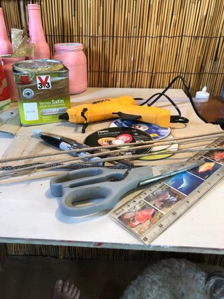 Bamboo Decorative Box - supplies