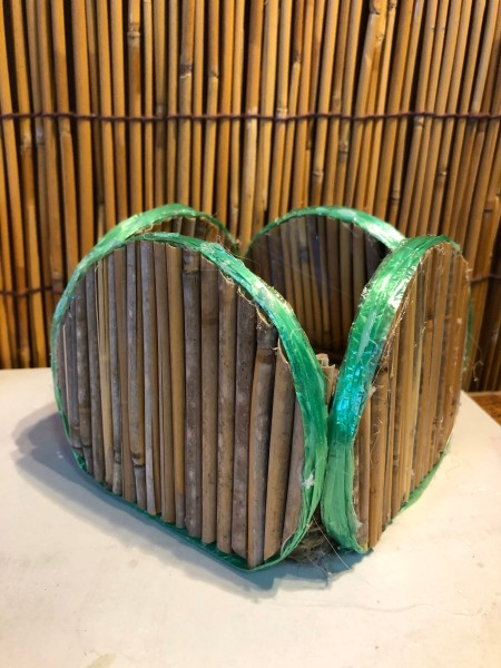 Bamboo Decorative Box -  finished box
