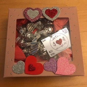 Valentine's Day Candy & Gift Box - ready to gift