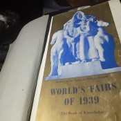 Value of the Book of Knowledge of 1939 World's Fairs - cover page