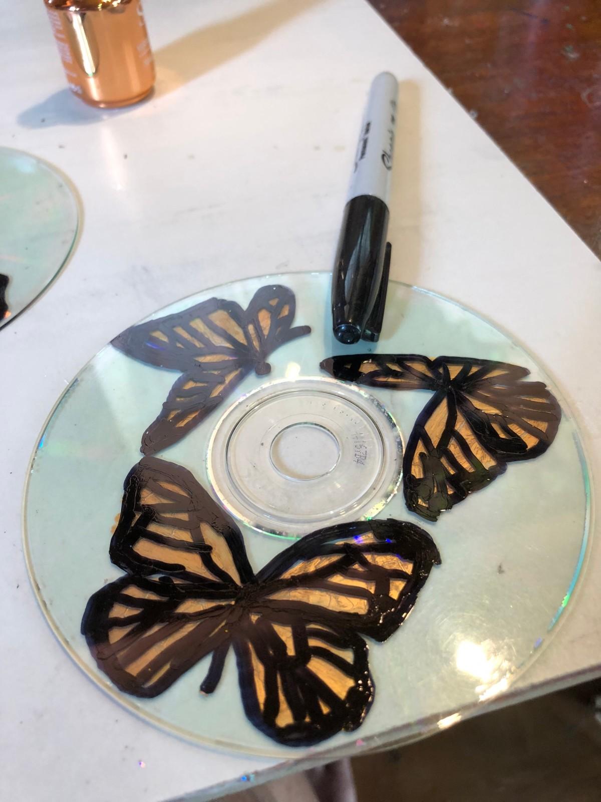 Glitter Butterfly CD
