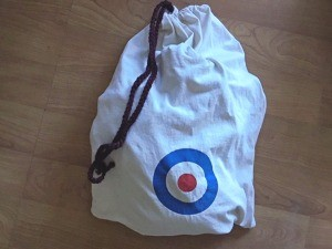 Making a Bag from a T-shirt - finished bag